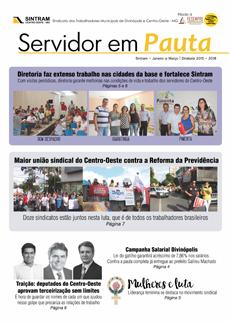 Jornal Servidor em Pauta 10ª Ed. - Janeiro/Março 2017